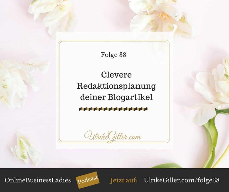 Clevere Redaktionsplanung deiner Blogartikel