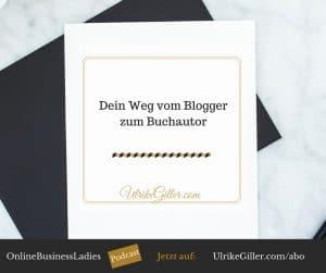 Dein Weg vom Blogger zum Buchautor