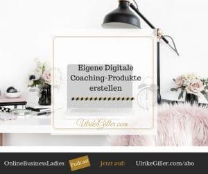 Eigene Digitale Coaching-Produkte erstellen