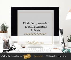 Finde den passenden E-Mail Marketing Anbieter