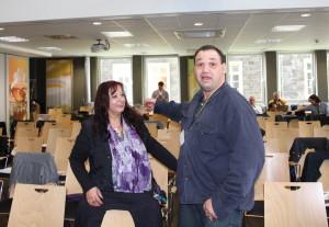 Ulrike Giller und Michael Turbanisch