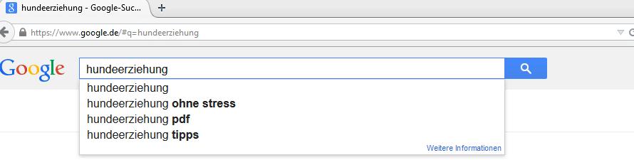 Longtail-Keywords einfach finden