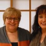 Urike Giller mit Sabine Asgodom