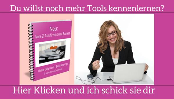 Meine 29 Tools für mein Online-Business