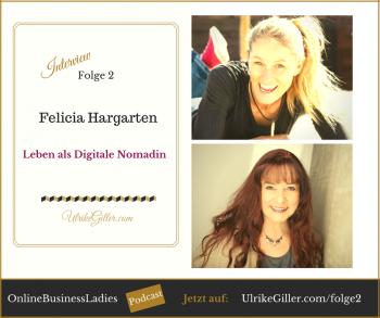 Felicia Hargarten -Leben als Digitale Nomadin