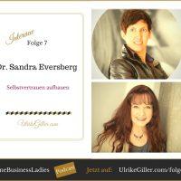 Selbstvertrauen aufbauen - Interview mit Dr. Sandra Eversberg