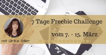 7 Tage Freebie Challenge
