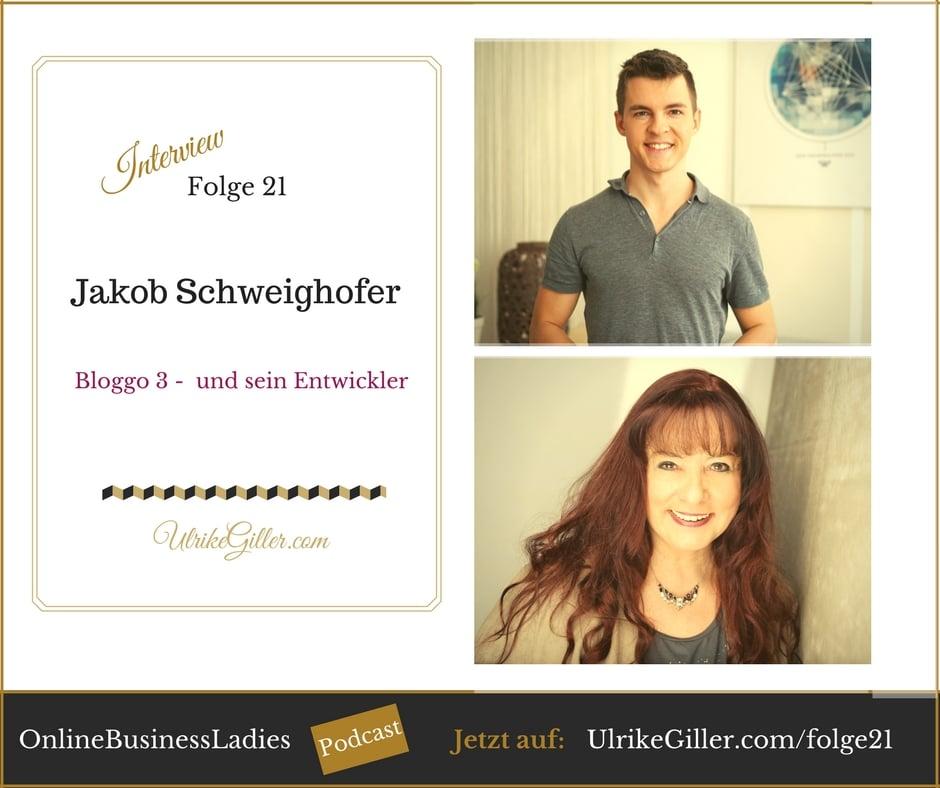 Bloggo 3 - Jakob Schweighofer im Interview