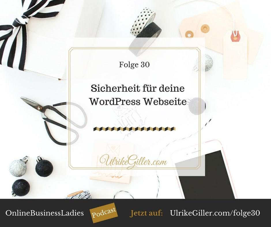 Sicherheit für deine WordPress Webseite