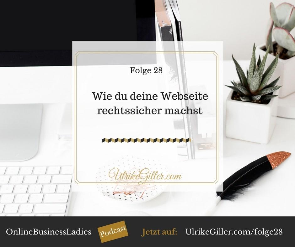 Wie du deine Webseite rechtssicher machst