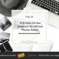 Wie kann ich das passende WordPress Theme finden