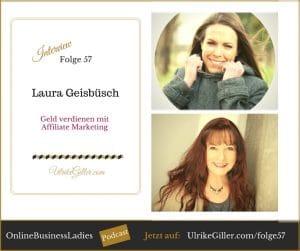 Geld verdienen mit Affiliate Marketing - Laura Geisbüsch