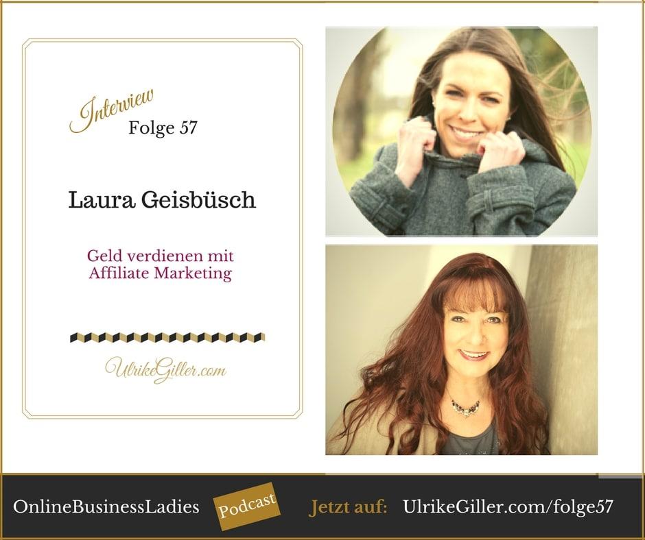 Geld verdienen mit Affiliate Marketing – Laura Geisbüsch