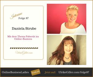 Mit dem Thema Pubertät ins Online-Business