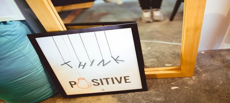Formuliere deine Ziele grundsätzlich positiv
