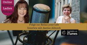 Relax your Life mit Janine Allnoch