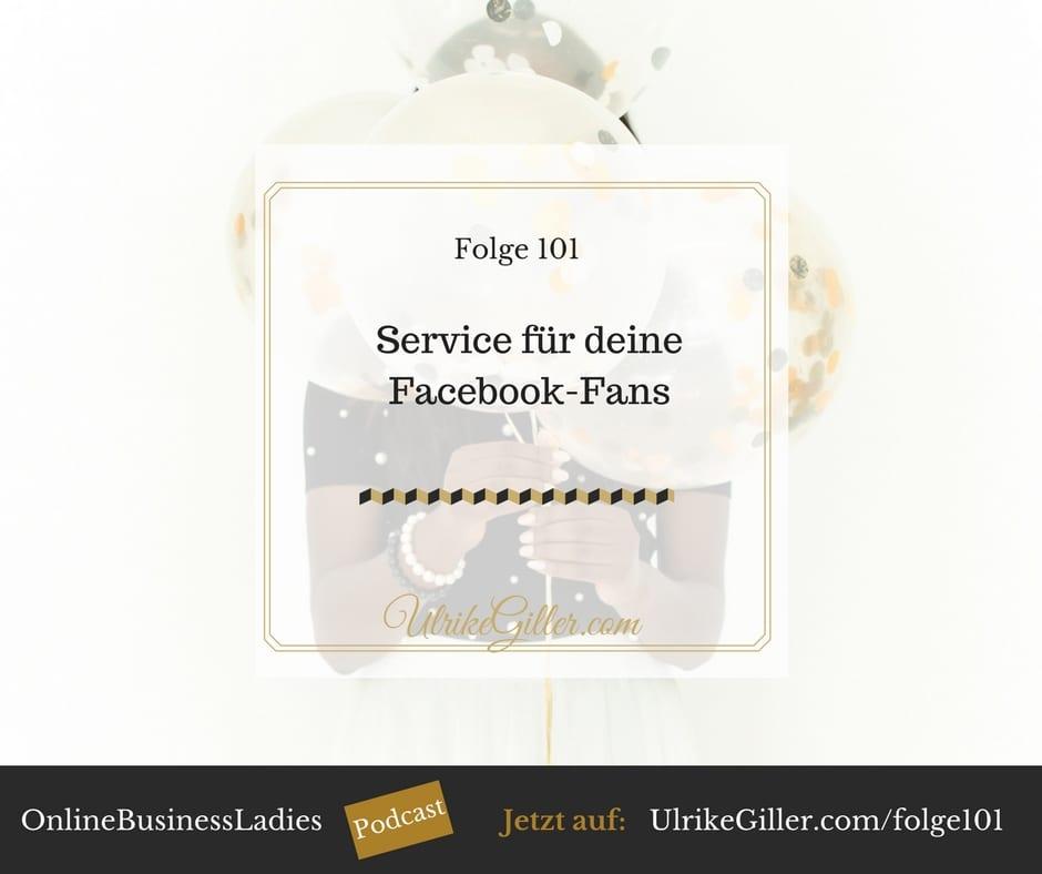Service für deine Facebook-Fans – 7 Wege