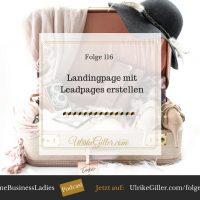 Landingpage mit Leadpages erstellen