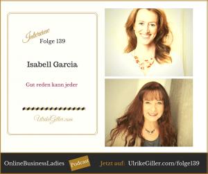 Gut reden kann jeder - Isabell Garcia