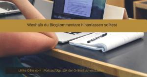 Weshalb du Blogkommentare hinterlassen solltest