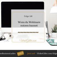 Wozu du Webinare nutzen kannst