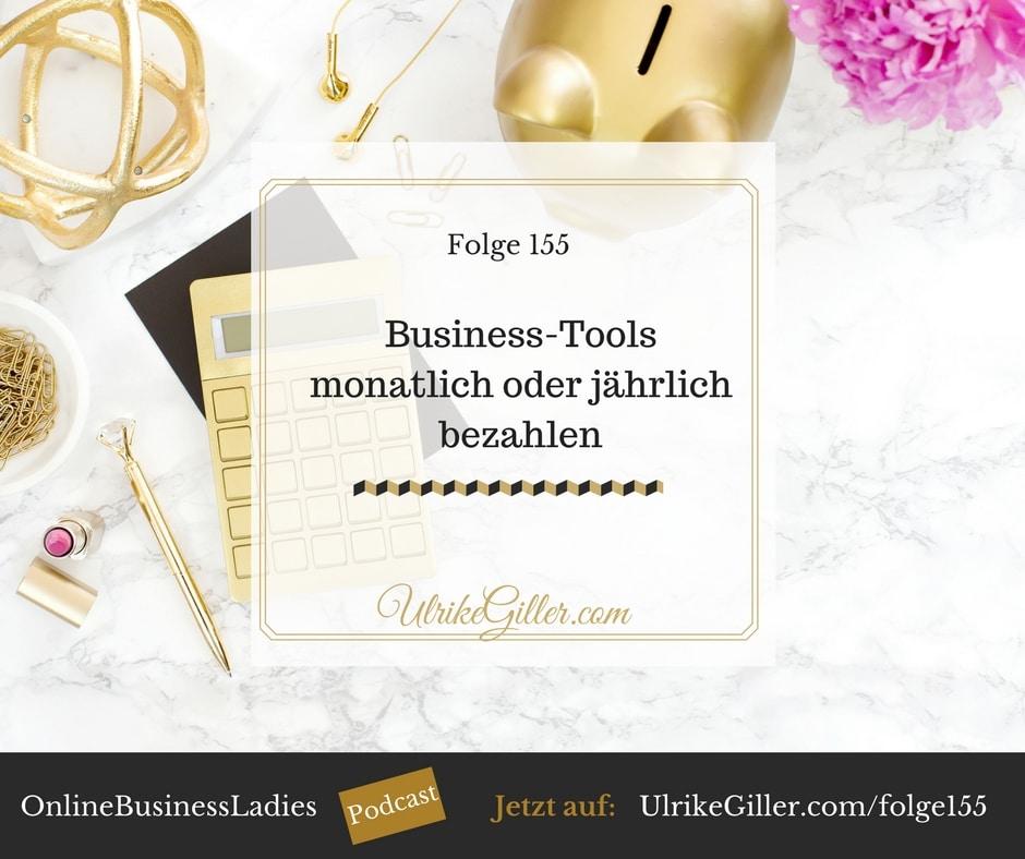 Business-Tools monatlich oder lieber jährlich bezahlen