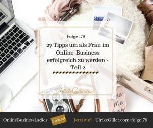 Erfolgreich als Frau im Online-Business