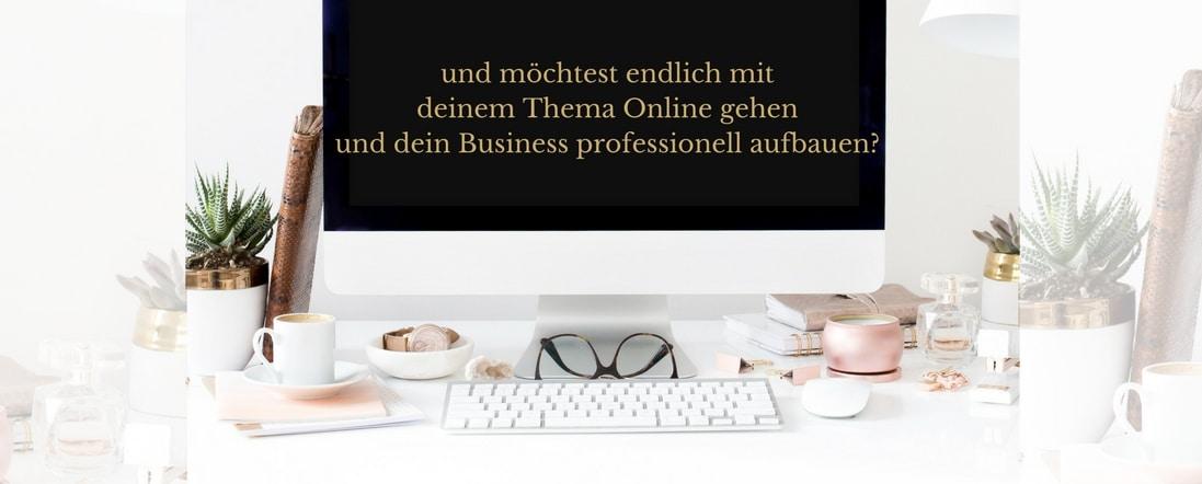 Create and Launch für den professionellen Online-Business Aufbau mit einem Online-Kurs
