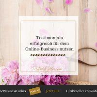 Testimonials erfolgreich für dein Online-Business nutzen