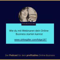 Wie du mit Webinaren dein Online-Business starten kannst