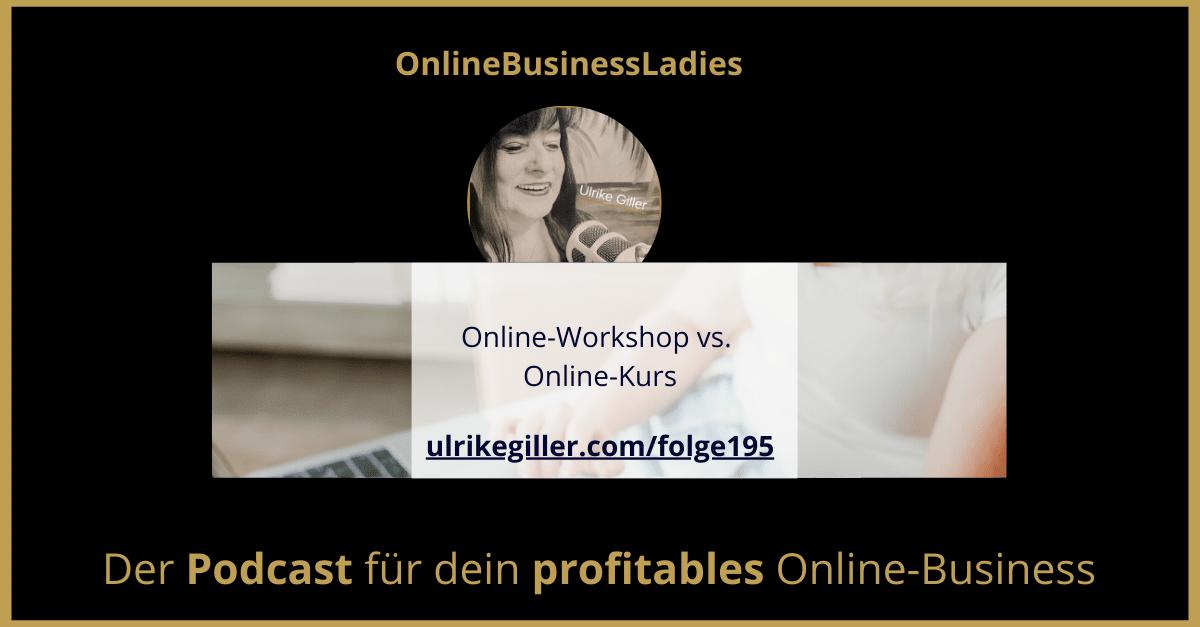 Besser einen Online-Workshop oder Online-Kurs erstellen