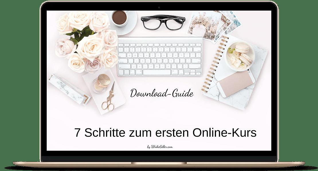 7 Schritte zum ersten Online-Kurs