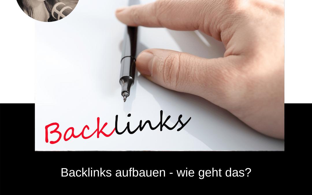 Backlinks aufbauen – wie geht das?