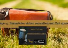 Passwörter sicher verwalten