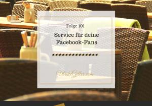 Service für deine Facebook-Fans