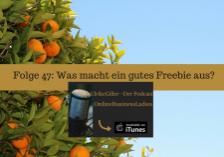 Was macht ein gutes Freebie aus